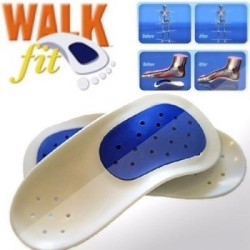 Ортопедические стельки Walk Fit - здоровая походка.
